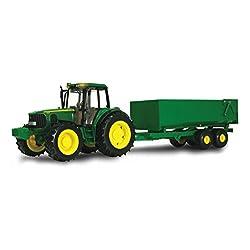 Ertl John Deere Big Farm Tractor with Wagon