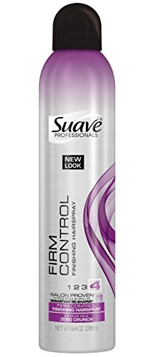Suave Professionals Hairspray, Touchable Finish Extra Hold 9.4 oz (Pack of 3)