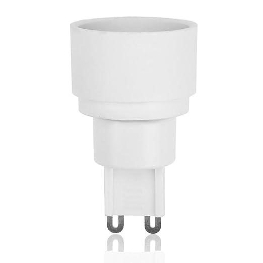 Lampensockel-Adapter 5 teile paket G9 zu E14 Adapter Lampensockel Lampenfassung Konverter 60 Watt-Starnearby