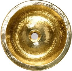 Amazon Com Nantucket Sinks Solid Brass Round Bar Sink