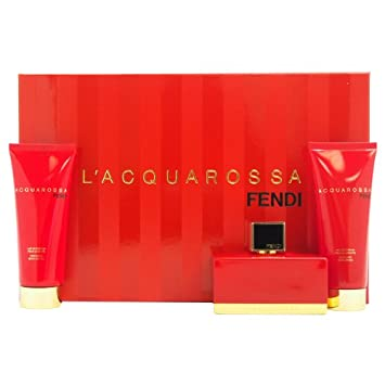 Fendi L acquarossa 3 Piece Gift Set for Women