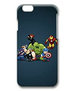 6 4.7 Case, The Avengers Slim Fit Case for iphone 6 4.7 3D PC Material