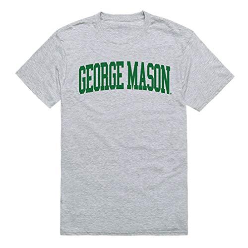 GMU George Mason University Game Day Tee T-Shirt Heather Grey -