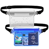 AiRunTech Waterproof Pouch with Waist Strap (2 Pack) | Best Way to Keep