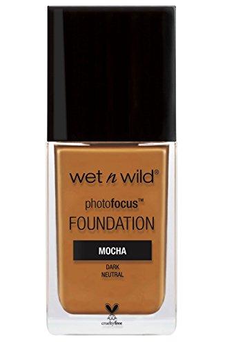 wet n wild Photo Focus Foundation, Mocha, 1 Ounce
