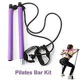 GoMi Portable Pilates Bar Kit with Resistance Band