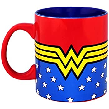 Other Comic Collectibles Wonder Woman Through The Years Tea Coffee Mug Cup 2015 Dc Comics Justice League