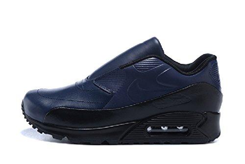 Nike 804550-440 Air Max 90 Sp / Sacai Sneakers Blu Nero Scarpe Da Donna Taglia 7