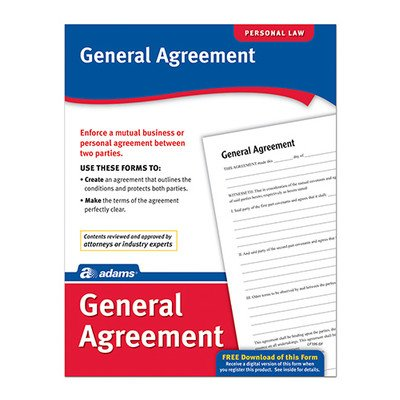 General Agreement Forms and Instruction (Set of 288) [Set of 6]