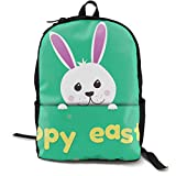 MGTXL Personality Knapsack Easter Bunny Convenient Knapsack