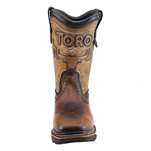 "Toro Bravo TRC1 10"" Tan/Brown Boots"