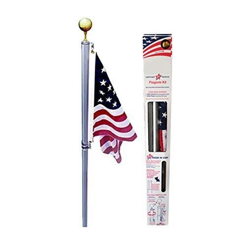 Ezpole Flagpoles Defender Flagpole Kit, 17-Feet by Ezpole Flagpoles