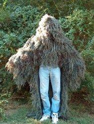 Stalker Ghillie Poncho - Woodland