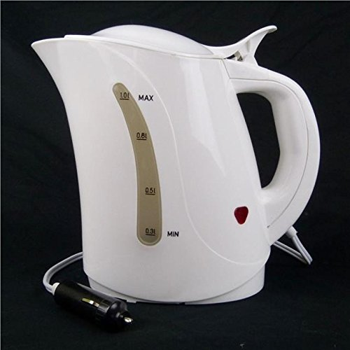 Plug In Portable 12V Car Camping Kettle Water Heater Boiler Tea Coffee Maker