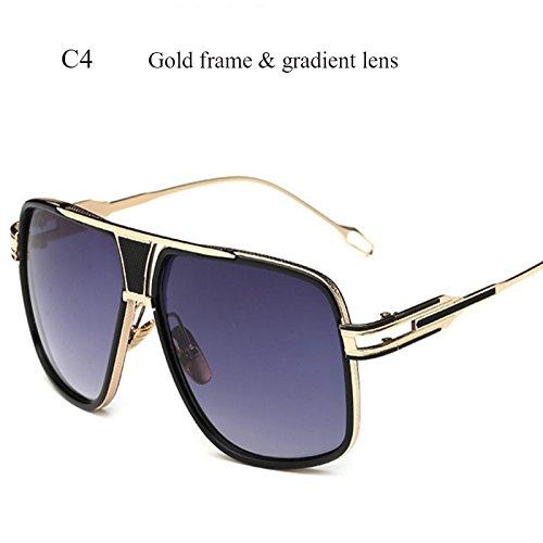 Gafas Limotai Gafas De Gafas Hombres De De De Lente Conductor Cuadrado C4 Espejo Degradado Gafas Sobredimensionado C6 Superior Solnuevo AwqA1rP