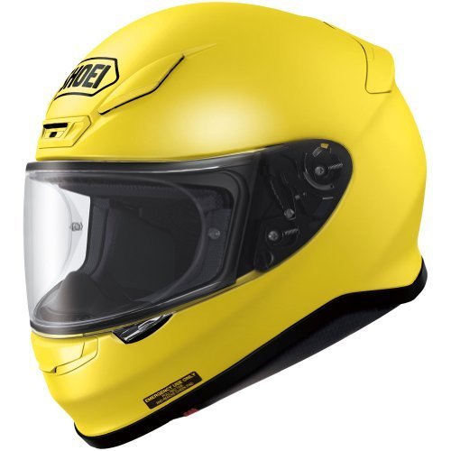 Shoei Metallic RF-1200 Street Racing Motorcycle Helmet - Brilliant Yellow/Small