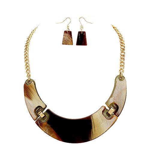 Womens Acrylic Horn - 6