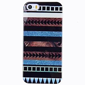 TOPAA Good Quality Stripes Pattern Plastic Hard Case For iPhone 5/5s
