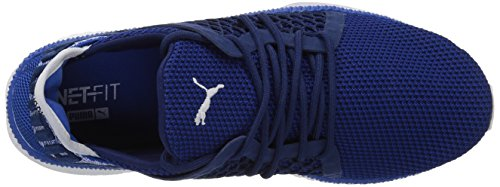 Sneaker Tsugi Netfit da uomo, profondit¨¤ blu-blu di Lapis-Puma White, 10 M US