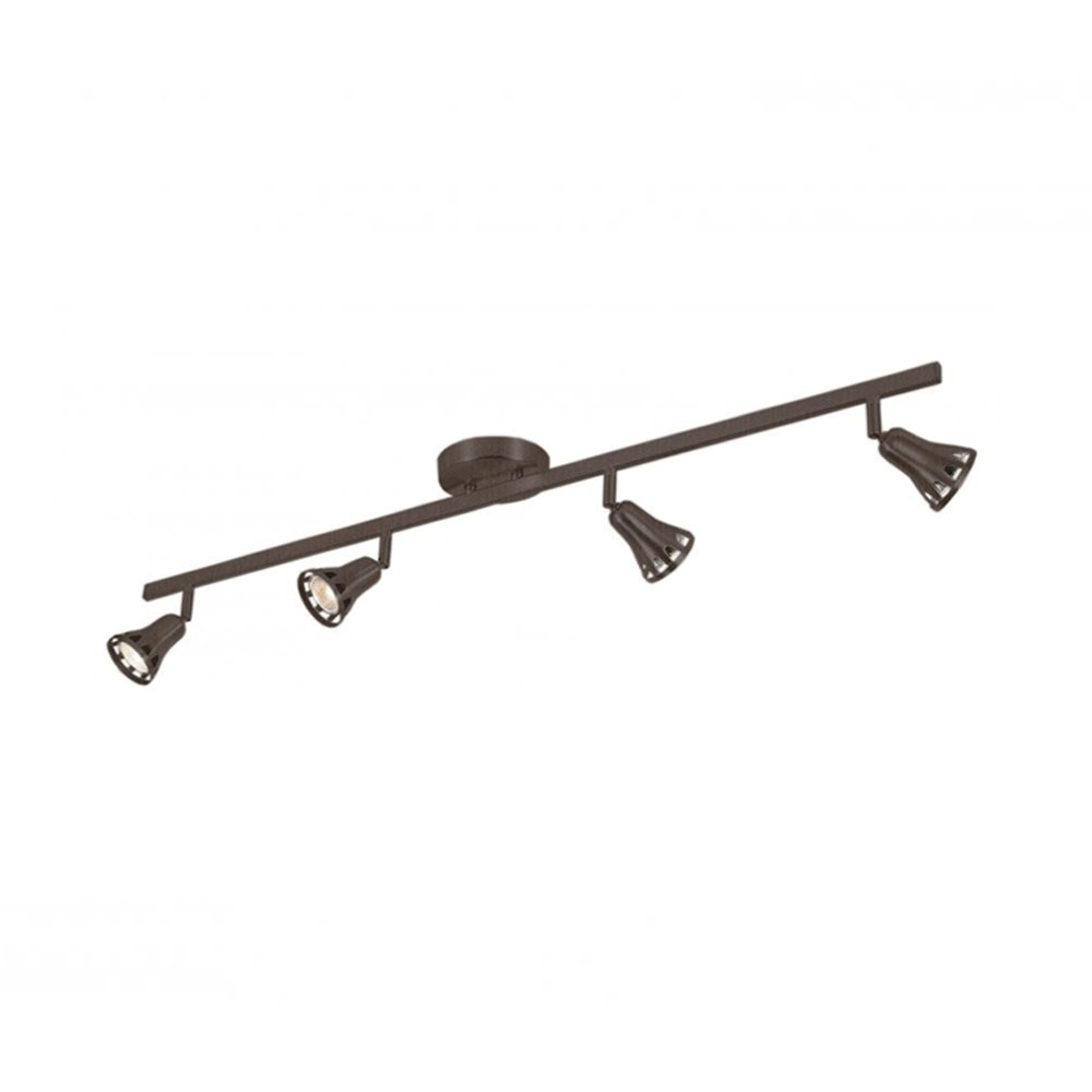 Transglobe Lighting W-494 ROB Track Light, Rubbed Oil Bronze Finished by Trans Globe Lighting
