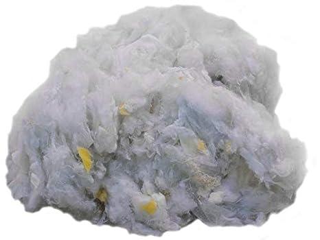 4kg Bastelwatte Füllwatte Polyesterhohlfaser Kissenfüllung Füllmaterial waschbar
