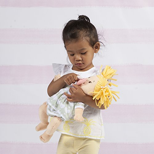 41En5UL9sTL - Manhattan Toy Baby Stella Blonde Soft First Baby Doll for Ages 1 Year and Up, 15""
