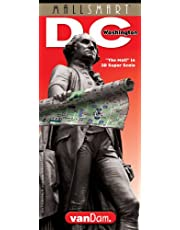 MallSmart Washington DC Map by VanDam -- Laminated City Street pocket map with all museums, sights, monuments, government buildings and hotels plus ... Map – Folded Map, 2020 Edition (Streetsmart)
