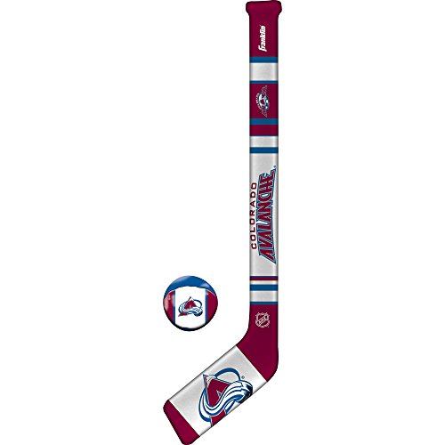 Franklin Sports NHL Colorado Avalanche Team Soft Sport Hockey Set (Colorado Hockey)
