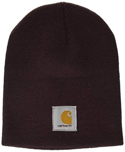 - Carhartt Women's Acrylic Knit Hat, deep Wine, OFA