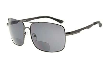 f888953902 Eyekepper gafas de sol bifocales gafas de sol de lectura lectores de sol  hombres (Gunmetal