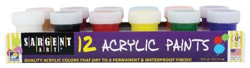 Sargent Art 66 5421 12 Jar Acrylic