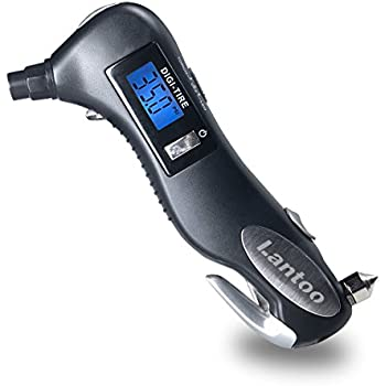 Amazon Com Digital Tire Pressure Gauge Lantoo 150psi