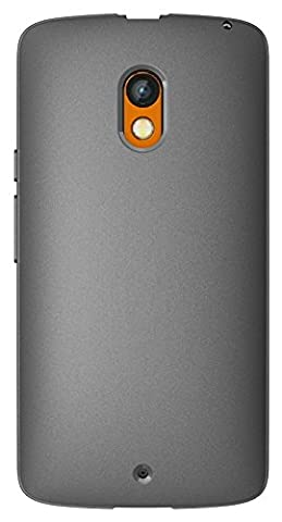 Droid Maxx 2 Case / Moto X Play Case, Diztronic Full Matte Slim-Fit Flexible TPU Case for Motorola Droid Maxx 2 & Moto X Play (2015) - Charcoal Gray - (PLY-FM-GRY)