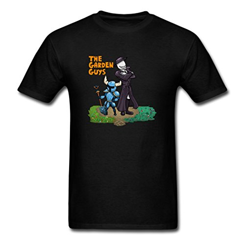 Price comparison product image Hugogo Pure Cotton Clearance Sales Smexy X Shovel Knight Black Male Tee Shirt XX-Large