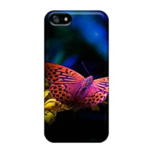 Protective Hard Phone Covers For Iphone 5/5s With Provide Private Custom Beautiful Butterfly Image EricHowe