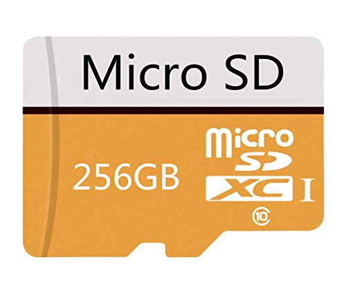 256GB Micro SD Card High Speed Class 10 SDXC with Free SD Adapter, Designed for Android Smartphones, Tablets and Other Compatible Devices (256gb)