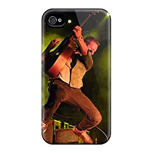 Shockproof Cell-phone Hard Covers For Iphone 4/4s (RRV12851NGDg) Customized High Resolution Coldplay Band Image
