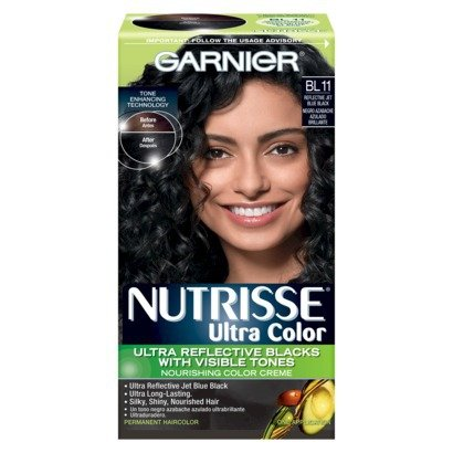 Garnier Nutrisse Ultra Hair Color - Refl Blue Black Bl11