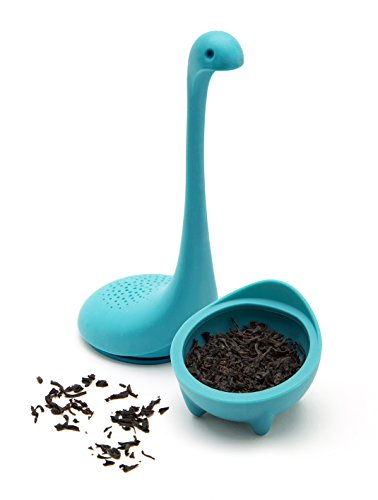 Baby Nessie the Loch Ness Monster Tea Infuser -Turquoise