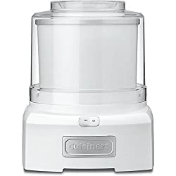 Cuisinart Frozen Yogurt-Ice Cream & Sorbet Maker 1.5 Quarts - (Certified Refurbished)