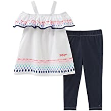 Tommy Hilfiger Baby Girls 2 Pieces Tunic Leggings Set