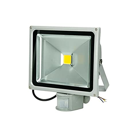 ECD Germany 1x Reflector LED SMD 30W 240V 1518 Lumens IP65 a prueba de agua Blanco