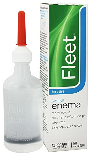 Fleet Adult Enema Size 4.5z Fleet Saline Adult Enema -  6977