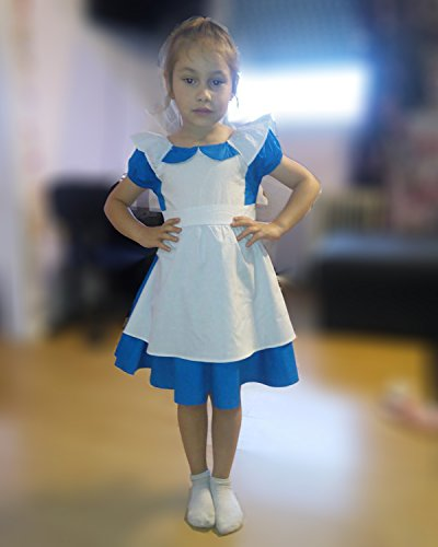 JiaDuo Little Girls Princess Alice Dress Up Cotton Halloween Costumes 130 by JiaDuo (Image #6)