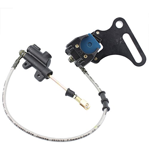 GOOFIT Rear Brake Assembly Master Cylinder Caliper for SDG SSR 107 110 125 I BK12