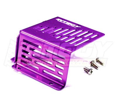 Integy RC Model Hop-ups T7099PURPLE Type II Fuel Tank Guard for HPI Savage-X, 21 & 25 Monster Truck