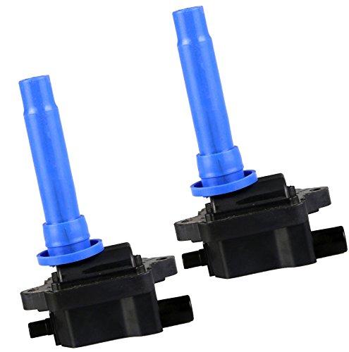 Pack of 2 Ignition Coils for 2000-2004 Kia Spectra L4 1.8L 1998-2001 Kia Sephia L4 1.8L C1181 UF253 88921397 (Kia Spectra Coil)