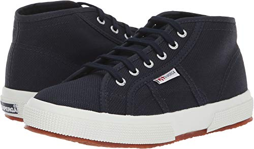 Superga Kids Unisex 2754 JCOT Classic (Toddler/Little Kid) Navy/White 31 M EU M (Superga Kids Classic Shoe)