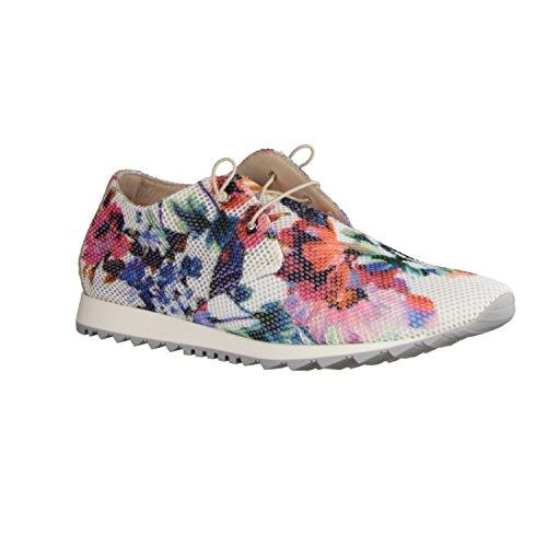 Donna Carolina Multicolore Multicolore Chaussures À Lacets Pour Femmes