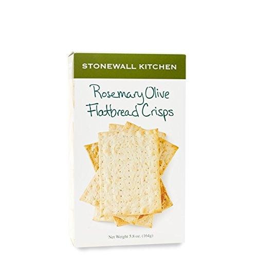 Stonewall Kitchen Rosemary Olive Flatbread Crisp, 5.8 ounce